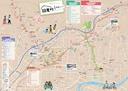 国見町周遊マップ 地図面